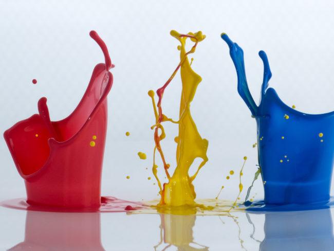 Farbexplosionen, exploding colors